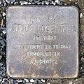 Stolperstein Stubenrauchstr 11 (Fried) Julius Rosenthal.jpg