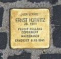 Stolperstein Unter den Linden 6 (Mitte) Ernst Horwitz.jpg