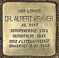 Stolperstein für Dr. Albert Kramer (Köln).jpg