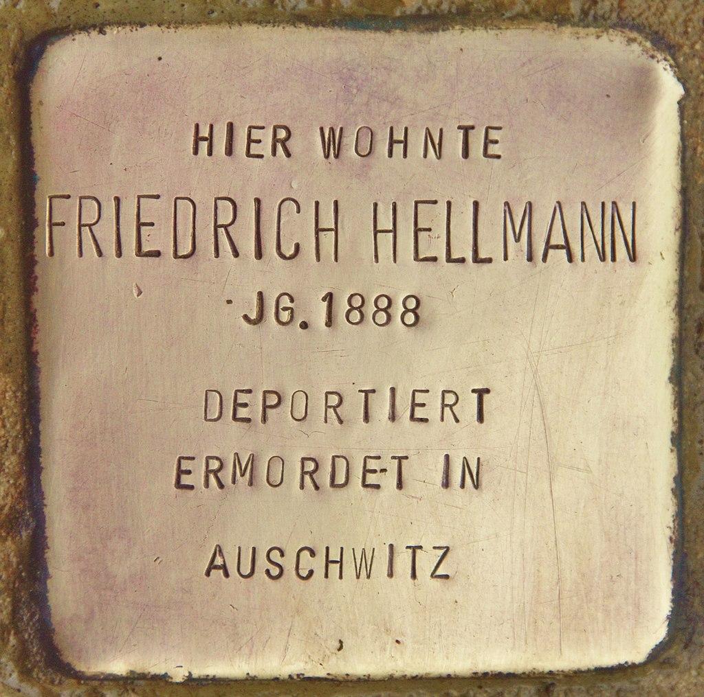 Stolperstein für Friedrich Hellmann (Schnaittach).jpg