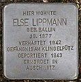 Stolpersteine Köln, Else Lippmann (Bachemer Straße 327).jpg