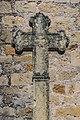 Stone cross at Place de l'Eglise in Muret-le-Chateau.jpg