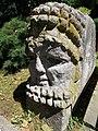 Stone head (1902) Vaszary Kolos Hospital, Esztergom, Hungary.jpg