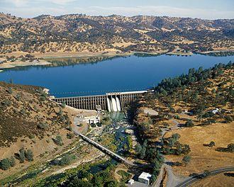 Stony Creek (Sacramento River tributary) - Stony Gorge Dam on Stony Creek, near Elk Creek
