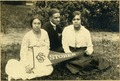 Storer College Students with School Banner, Harpers Ferry, W. Va.tif