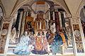 Storie di s. benedetto, 33 sodoma - Come Benedetto scomunica due religiose e le assolve poi che furono morte 01.JPG