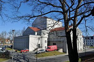 Stralsund Theatre - The building in 2012
