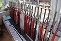 Strawberry Line (Miniature Railway) signal box interior.JPG