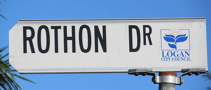 File:Street sign Logan Rothon.jpg