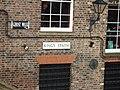 Street sign for Kings Staith, York - geograph.org.uk - 1881797.jpg