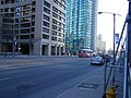 Streetcar heading East between York and Bay streets, Toronto -a.jpg