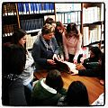 Studenti wikipediani del Liceo Gianturco (Potenza) alla scoperta delle fonti in biblioteca.jpg