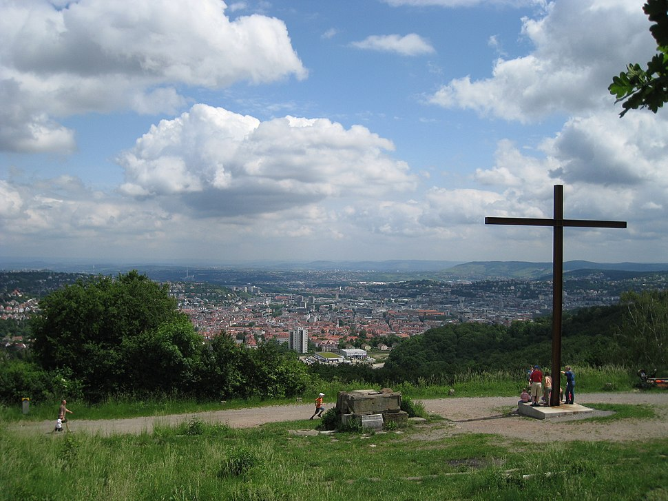 Stuttgart View from Birkenkopf