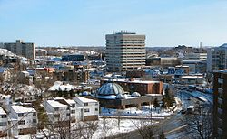 Downtown Sudbury.
