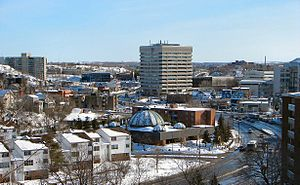 Urban neighbourhoods of Sudbury - Downtown Sudbury.