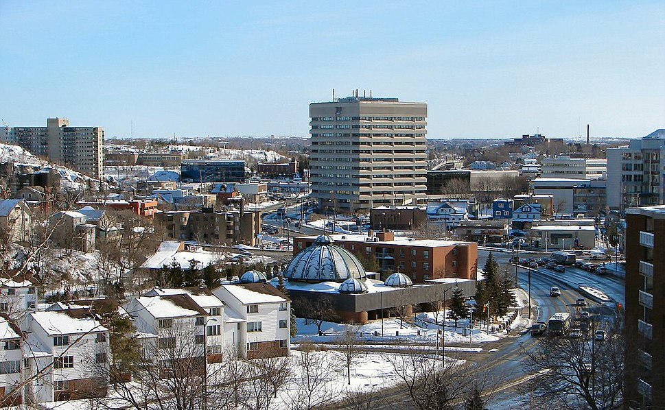 Sudbury downtown
