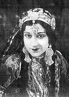 Sultana (actress) One of the earliest film actresses from India