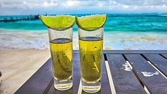 Tequila - Tequila shots and Cancun surf