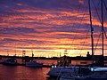 Sunrise Over Portsmouth Dockyard - geograph.org.uk - 6436.jpg