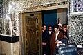 Supreme Leader Ali Khamenei in Shah Abdol Azim Mosque (11).jpg