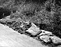 Surface of Bothell road taken up and shoveled over to one side to make way for new pavement, Washington, May 8, 1912 (INDOCC 603).jpg