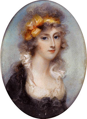 Anne Mee - Charlotte Townshend (1776-1856), miniature by Anne Mee