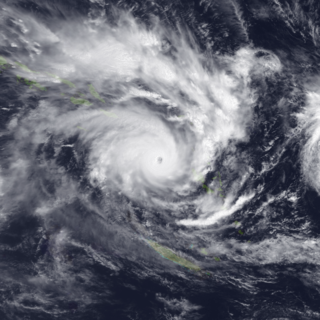 Cyclone Susan Category 5 South Pacific cyclone in 1997 and 1998