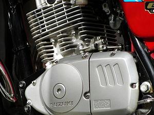 Suzuki GS series - Suzuki GS-150 Engine