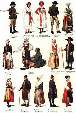 99ff5b182d65 Svenska folkdräkter – Wikipedia