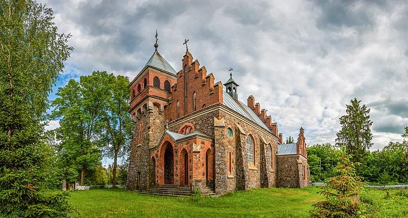 Костел Святої Клари в с. Городківка