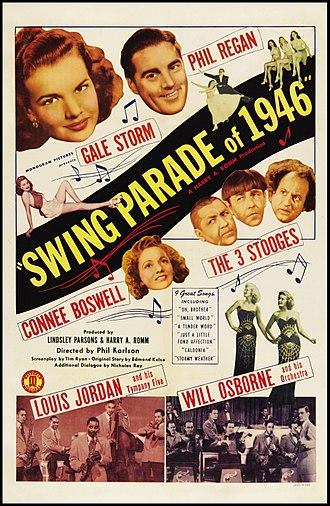 Swing Parade of 1946 - Film poster