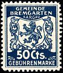 Switzerland Bremgarten 1940 revenue 50c - 24.jpg