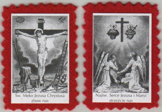 Red Scapular of the Passion