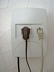 Splitter ADSL per separare dati e voce