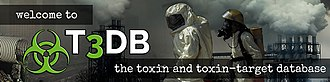 Toxin and Toxin-Target Database - T3DB logo