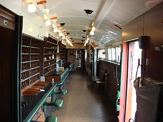 Travelling Post Office - TPO interior