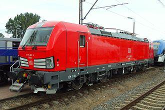 Vectron (locomotive) - Image: TRAKO 2013 w Gdańsku – Siemens Vectron electric (DB)