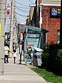 TTC shelter at the intersection of O'Connor and St Clair, 2016 08 19 (1) - panoramio.jpg