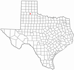 Location of Silverton, Texas