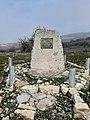 Tablica pamiątkowa w miejscu śmierci dwóch polskich żołnierzy w Macedonii.jpg