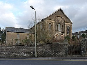 Tabor United Reformed Church, Maesycwmmer - geograph.org.uk - 1711988.jpg