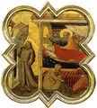 Taddeo gaddi, formelle dell'armadio della sacrestia di santa croce, 04 sogno di innocenzo III.jpg