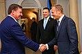Tallinn Digital Summit. Welcome dinner hosted by HE Donald Tusk. Handshake (23526137868).jpg