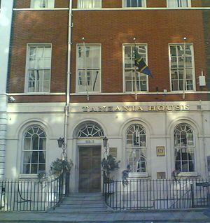 High Commission of Tanzania, London - Image: Tanzania High Commission UK