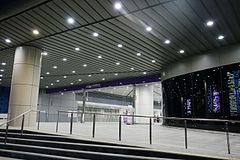 Taoyuan Airport MRT New Taipei Ind Park Station Exit.jpg