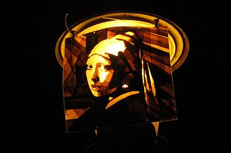 Max Zorn (artist) - A piece of tape art by Zorn