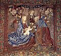 Tapestry by unknown weaver - The Holy Family - WGA24177.jpg