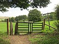 Tapsel gate at Coombes church, West Sussex.jpg