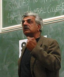Ali at Imperial College, London in November 2003