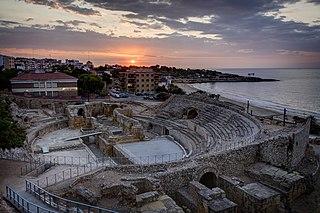 Tarraco ancient city on the site of modern Tarragona, Catalonia,Spain